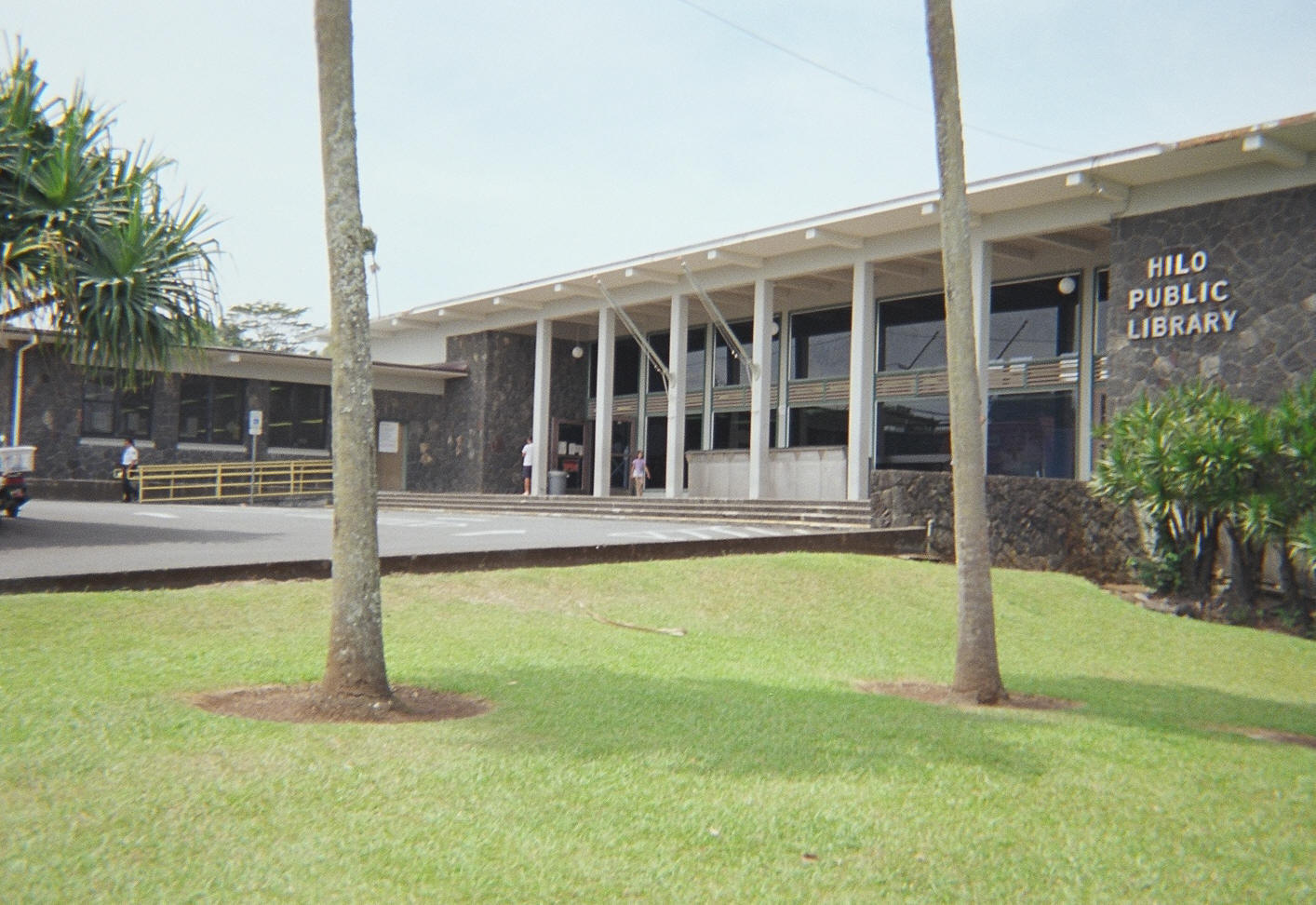 Hilo Public Library. Photo Courtesy: Hawaii State Public Library System