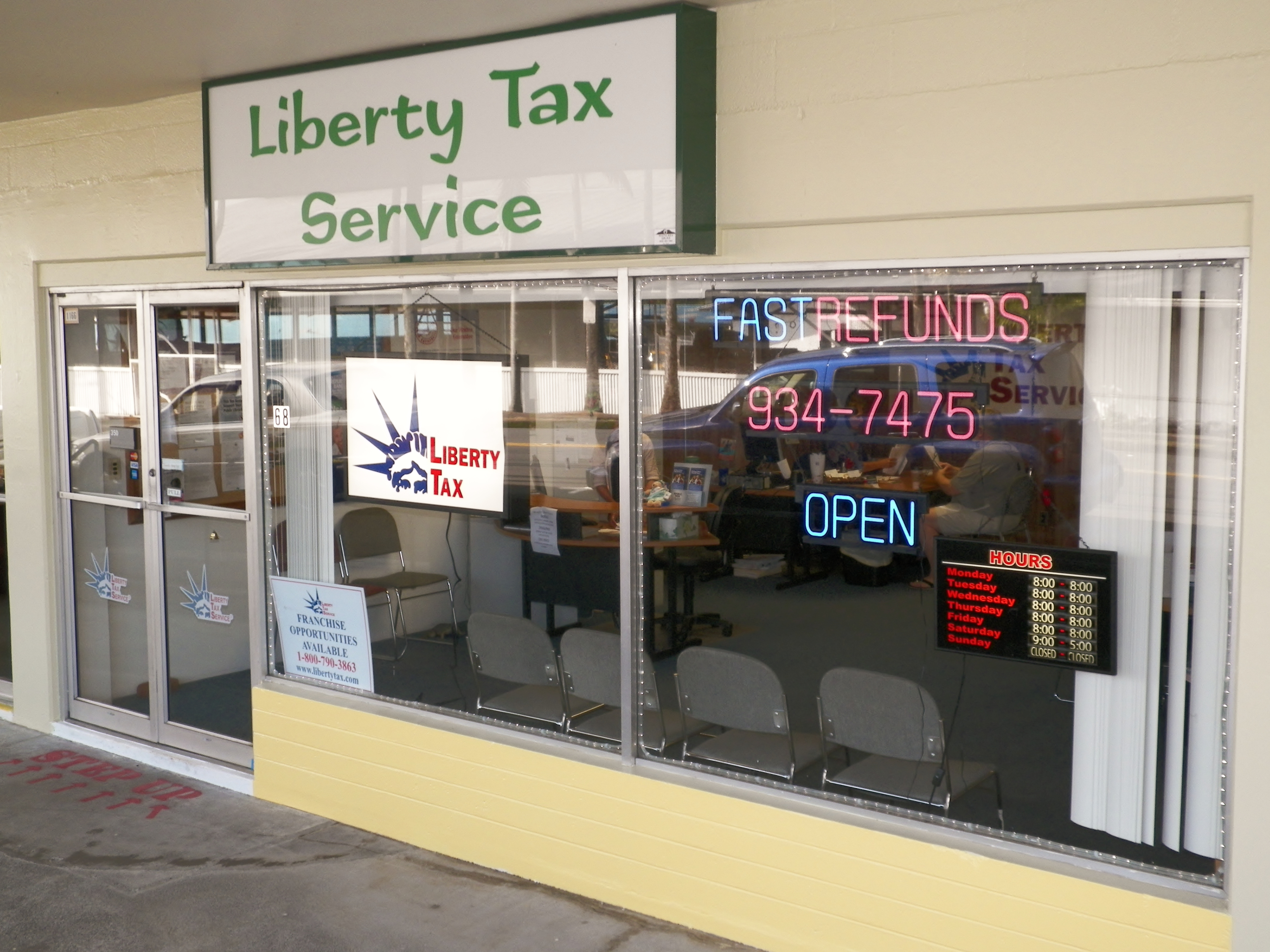 liberty tax office liberty tax service expands on the big island big island now 986