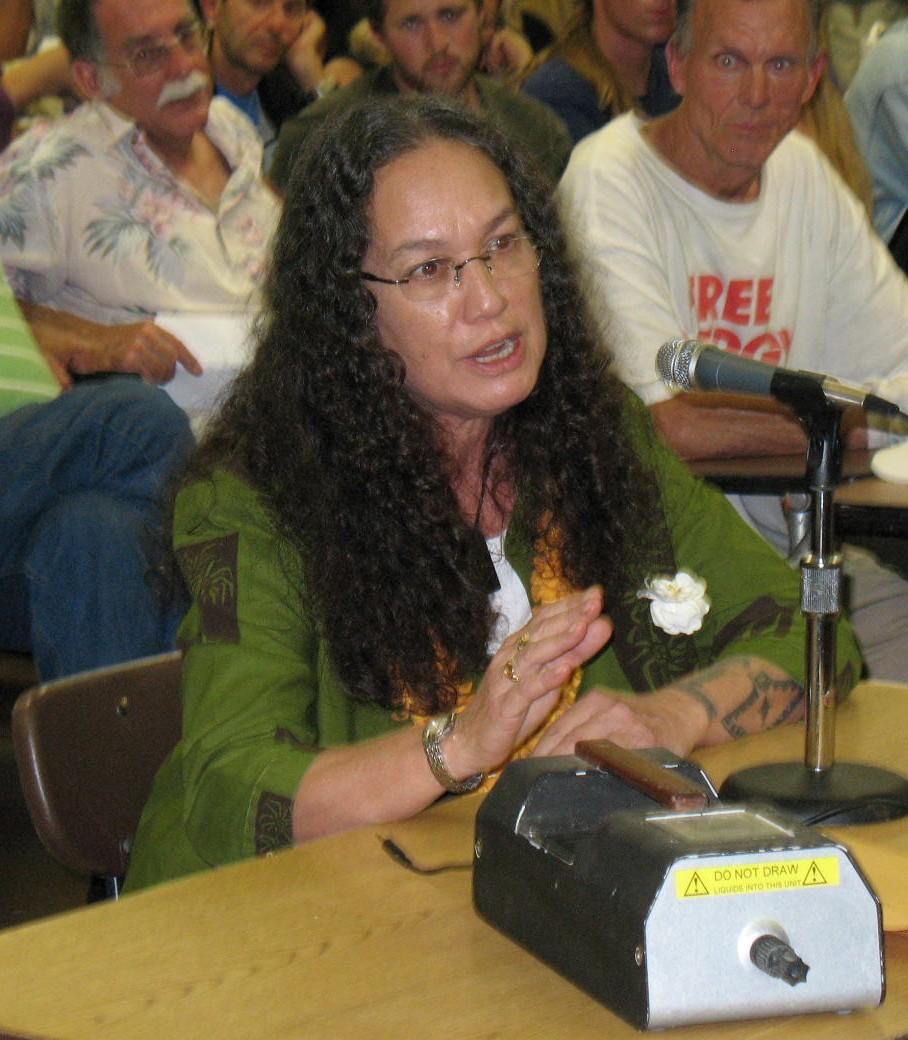 Mililani Trask Testifying
