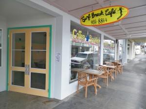 Surf break cafe exterior