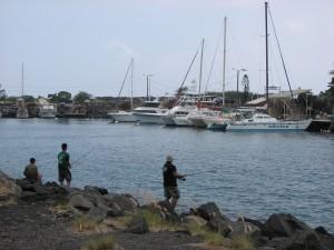 Honokohau Harbor in Kona. File photo.