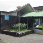 The Pahoa library shown above is the third-busiest on the Big Island, behind those in Hilo and Kailua-Kona. File photo.