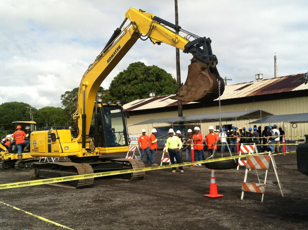 Heavy Lifting Involved in Career Days Event | Big Island Now