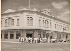 Koehnenu0027s Grand Opening In 1957. The Company, Whch Opened In 1929, Bought  The Hackfeld Building At The Corner Of Kamehameha And Wainuenue Avenues And  Has ...