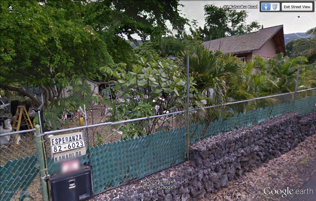 The location of the fire early Sunday is shown in this Google Street View image.