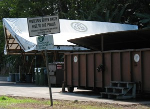 County funding for recycling efforts would be cut under Kenoi's proposed budget. Photo by Dave Smith.