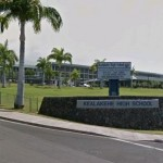 Kealakehe High School in Kailua-Kona. Google Street View image.