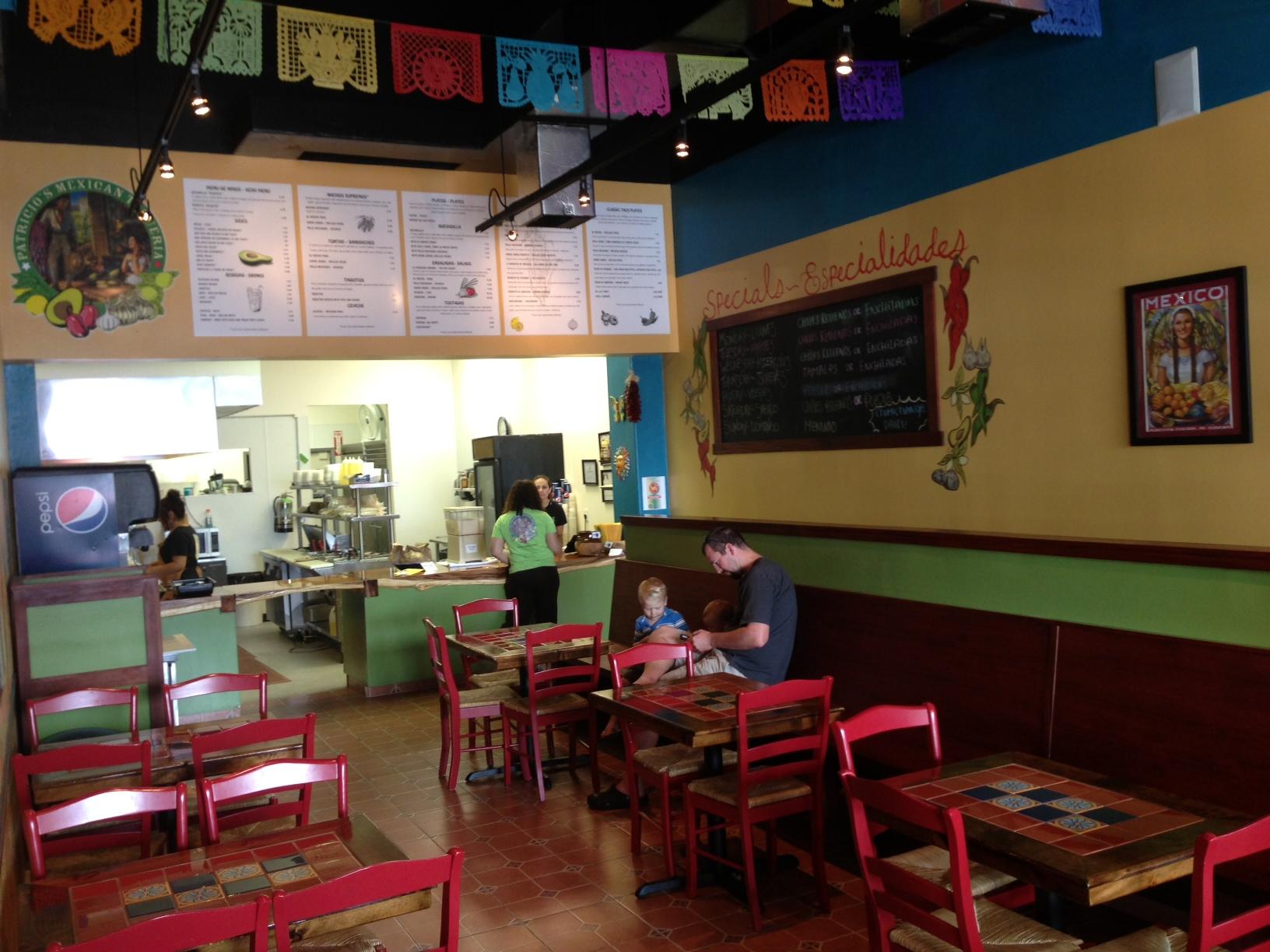 Fancy mexican restaurant interior