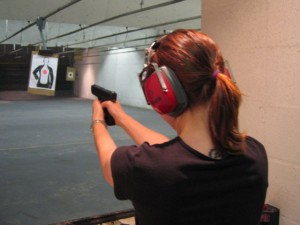 A firearms safety course is required before obtaining a handgun permit in the islands.
