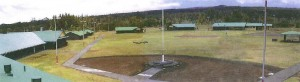 The dormitories at Kulani Correctional Facility are shown in this view from the prison's watch tower (click to enlarge). Photo courtesy of DPS.