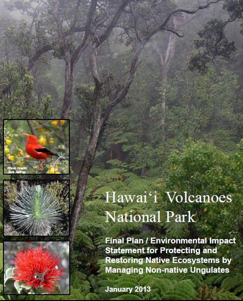 Hawaii Volcanoes Releases Plan for Animal Control