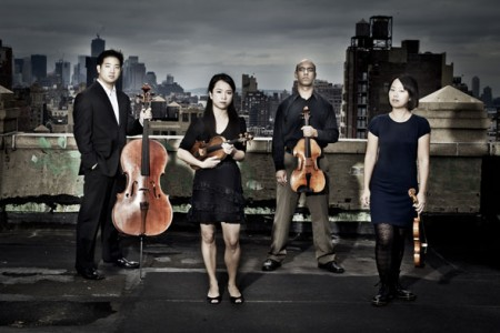 Afiara String Quartet, courtesy image from afiara.com.