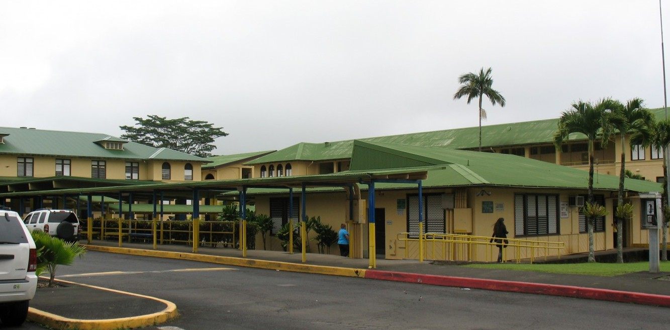 Hilo High School. Photo by Dave Smith.