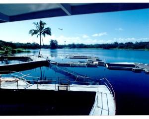 View from Seaside Restaurant, Hilo. Photo courtesy of Seaside Restaurant and Aquafarm.