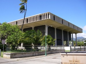 Hawaii's state Capitol. File photo.