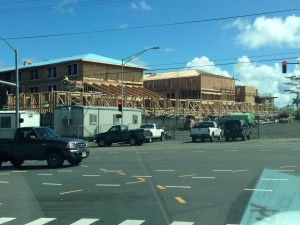 Phase 2 of UH Hilo's new student housing complex will be designed in part by the private sector. Photo by Nate Gaddis.