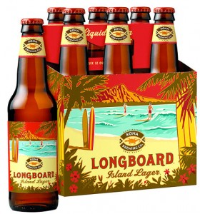 Kona Brewing Company's Longboard Island Lager helped it's 2012 sales increase 27% over 2011.