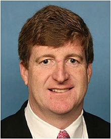 Former US Rep Patrick Kennedy.