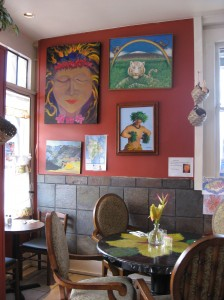 Pele's Kitchen features the work of local artists. Photo credit Denise Laitinen.