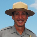 Ranger John Broward, coordinator of the national park's Search and Rescue team. HVNP photo.