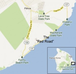 Modified Google Maps image.