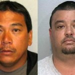 Billy Colliado, left, and Donald Wilbur. HPD photos.