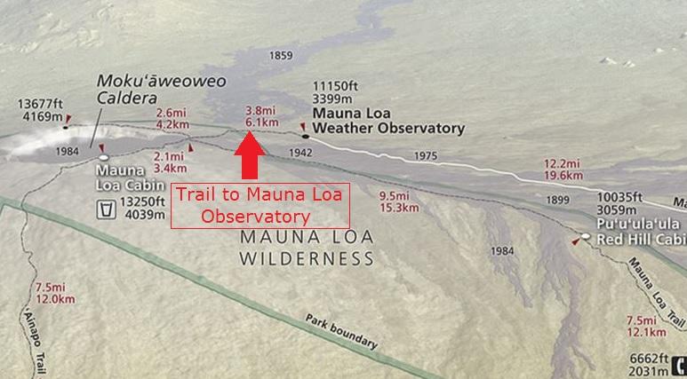 VOLCANO WATCH: Mapping the world's largest volcano |Mauna Loa World Map