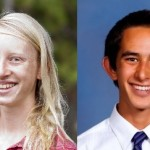 Big Island high school students Zoe Sims, left, and Paul Gregg have been named US Presidential Scholars. Courtesy photos.