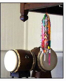 Taiko drums. Image courtesy Daifuji Taiko.