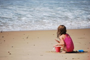 Before you leave, make sure that bucket's empty. New legislation this year prohibits removing sand from beaches.