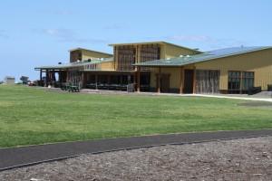 Kanu o ka 'Aina Learning Ohana has won a prestigious architectural award for its new campus buildings. Photo credit KALO.
