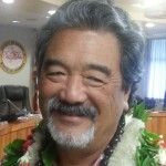 Duane Kanuha, following his confirmation as county planning director. Photo by Dave Smith.