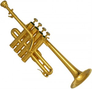 Another of the stolen instruments was a Schilke piccolo trumpet, similar to the one pictured above. Courtesy image.
