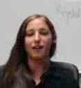 Krystal Schlechter is shown taking part in an online forum in this screenshot from the PISCES Facebook page.