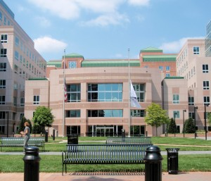First Citizen's bank is protected against up to 80% of its losses thanks to a loss-share agreement with the FDIC (Arlington offices pictured here). Public domain image.
