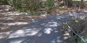 The road as seen in September 2011, courtesy of Google Street View.