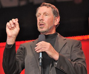 "Larry Ellison: one of only two ""new money"" landowners to make our top ten list. Public domain image."
