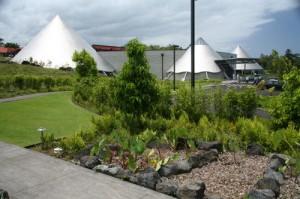 The 'Imiloa Astronomy Center. University of Hawai'i at Hilo photo.