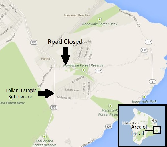 Update Pahoa Kapoho Road Reopened To Traffic Big Island Now