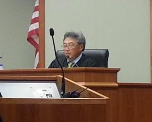 Circuit Court Judge Greg Nakamura. Photo by Dave Smith.