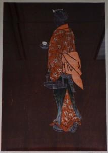 """Lysiane Serving Tea"" by Holualoa artist Hiroki Morinoue is one of several pieces in the office of Kailua-Kona Rep. Nicole Lowen. Courtesy photo."