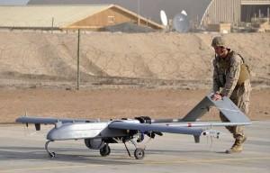 The RQ-221A Blackhawk drone. Source: USMC final environmental assessment.