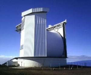 The James Clerk Maxwell Telescope. JAC photo.