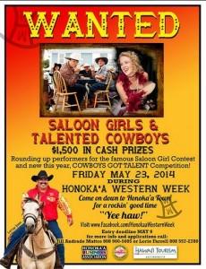saloon girls honokaa western week