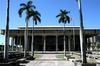 Hawai'i State Capitol. Hawai'i State Legislature photo.
