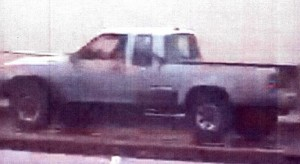 The couple being sought left the scene in this pickup truck. HPD photo.