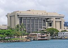 The Prince Kuhio Federal Building in Honlulu.