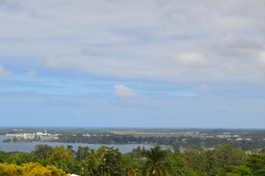 Downtown Hilo, the day before Hurricane Iselle struck. Photo by Nate Gaddis.