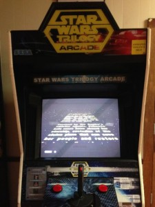 The holy grail of late twentieth century arcades: Star Wars, the Arcade Game. Photo by Nate Gaddis.