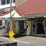 Rudy Project't storefront on Alii Drive, next to Scandinavian Shave Ice. Photo courtesy: Rudy Project.